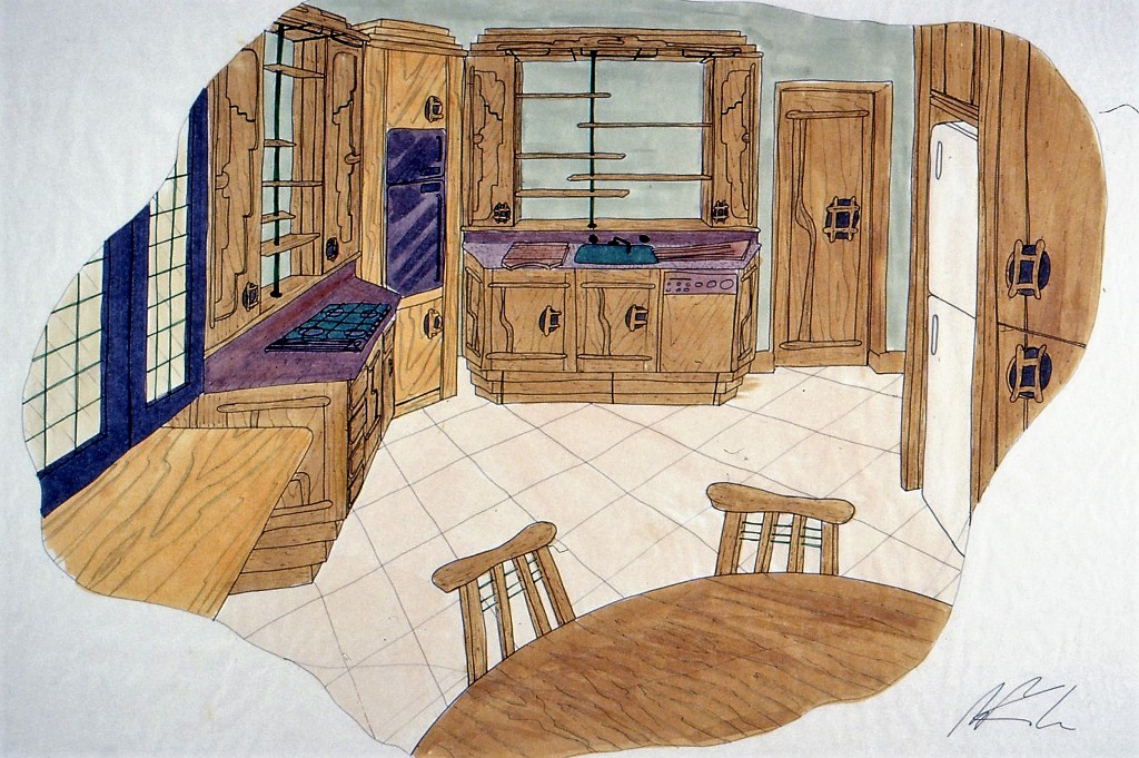 Lewis Design London - Kitchen Concept (4)
