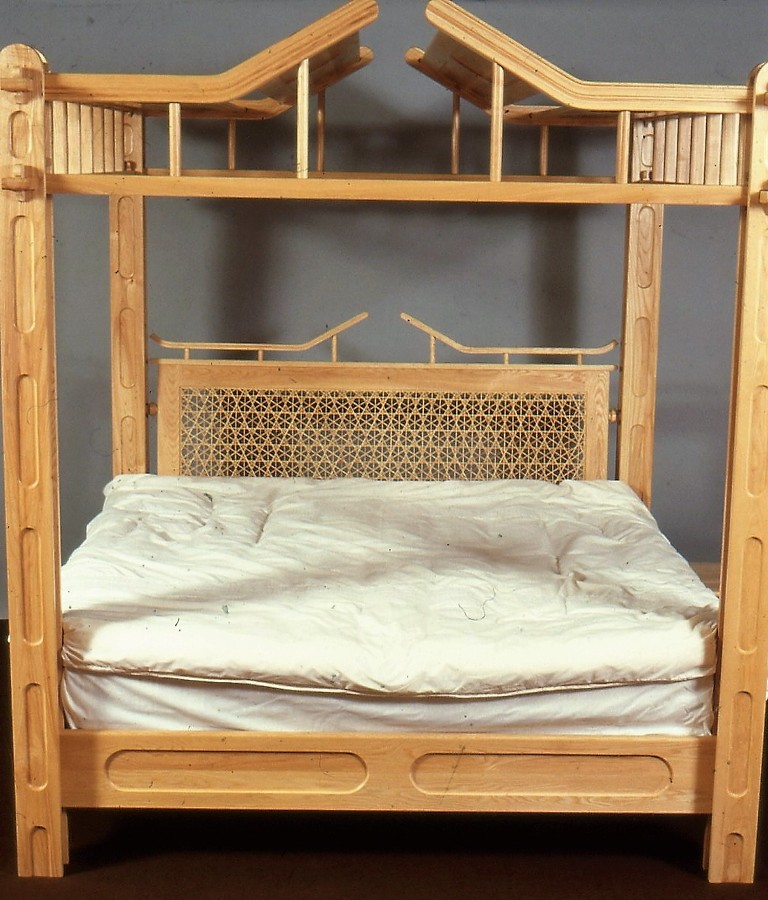 Oriental bed lewis design london for Asian furniture tottenham court road