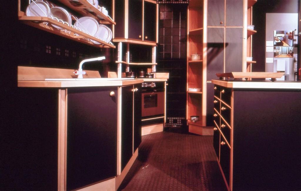 Lewis Design London - Black Kitchen (6)