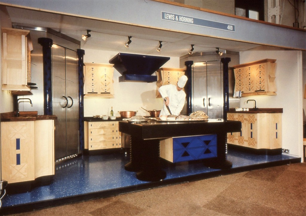 Lewis Design London - Blue Kitchen (15)