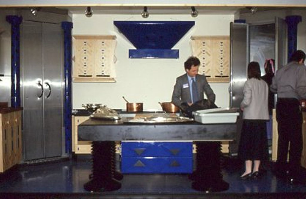 Lewis Design London - Blue Kitchen (6)