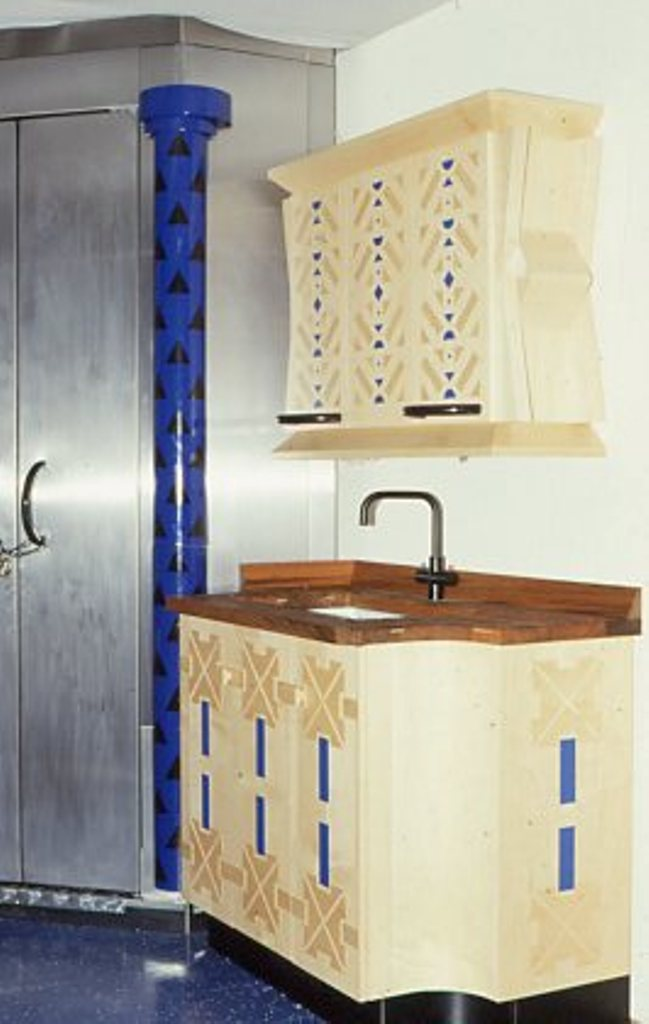 Lewis Design London - Blue Kitchen (8)