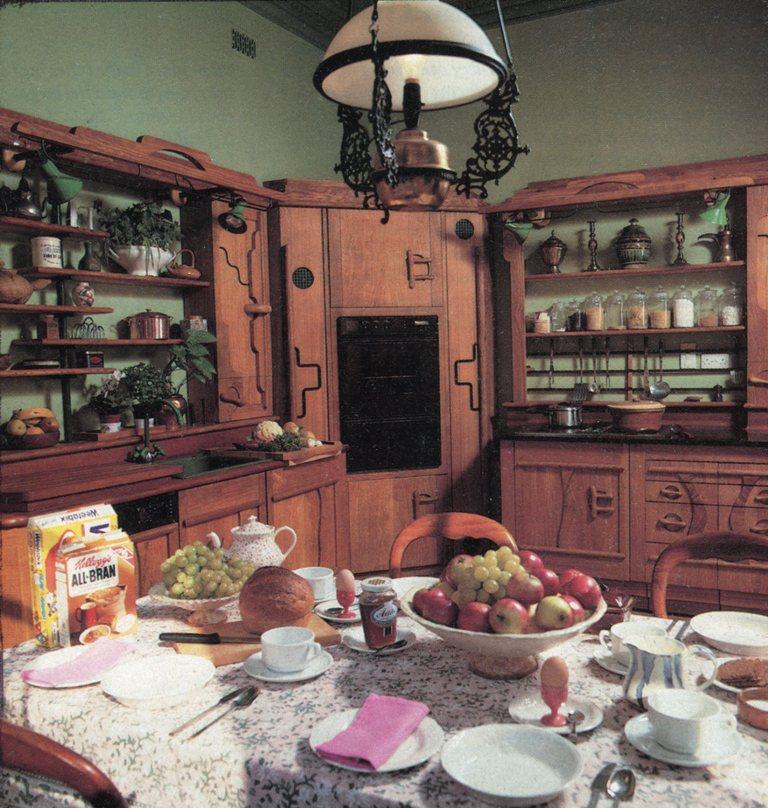 Lewis Design London - Olive Ash Kitchen