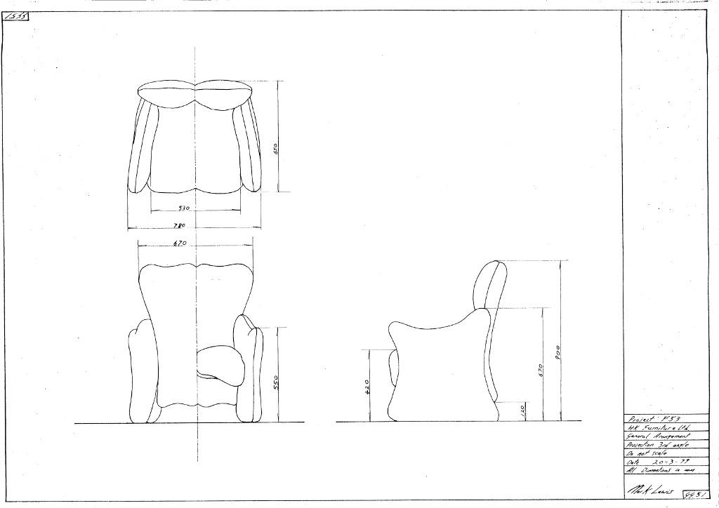 Lewis Design London - Arm Chair (1)