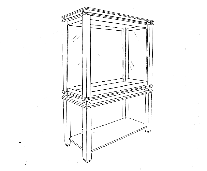 Lewis Design London - Display Cabinet
