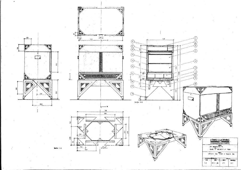 Lewis Design London - Seaman's Chest (2)