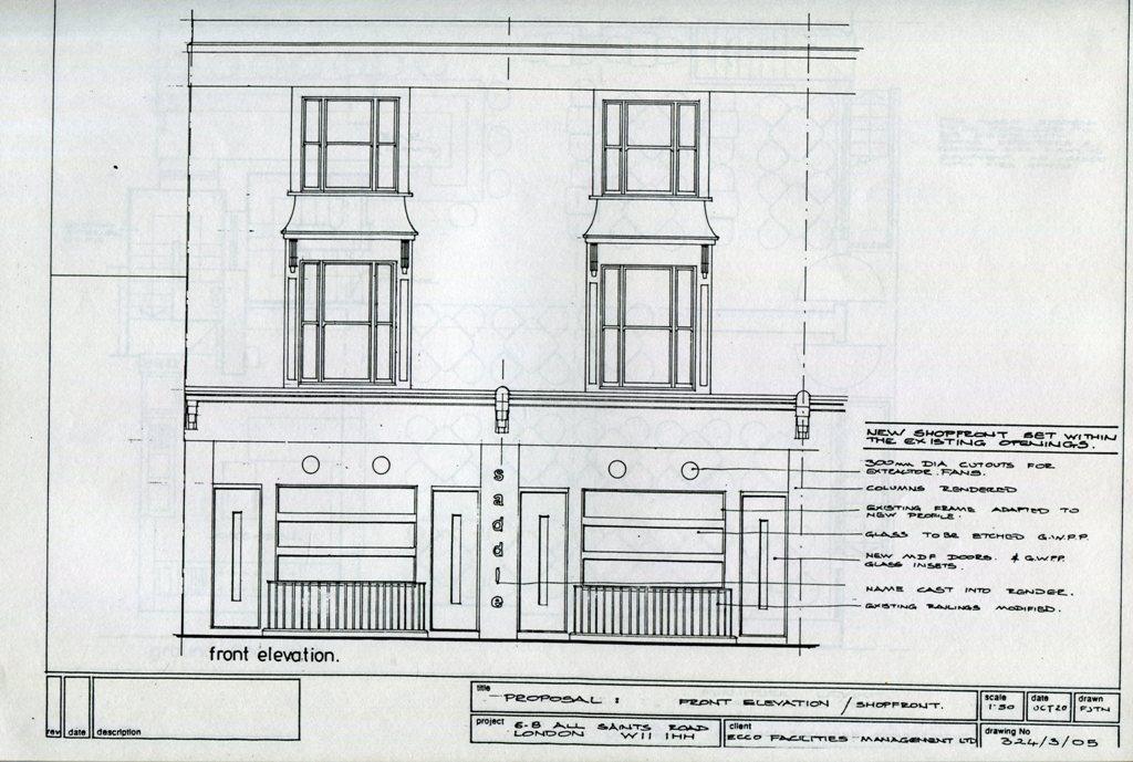 Lewis Design London - Restaurant Refurb004