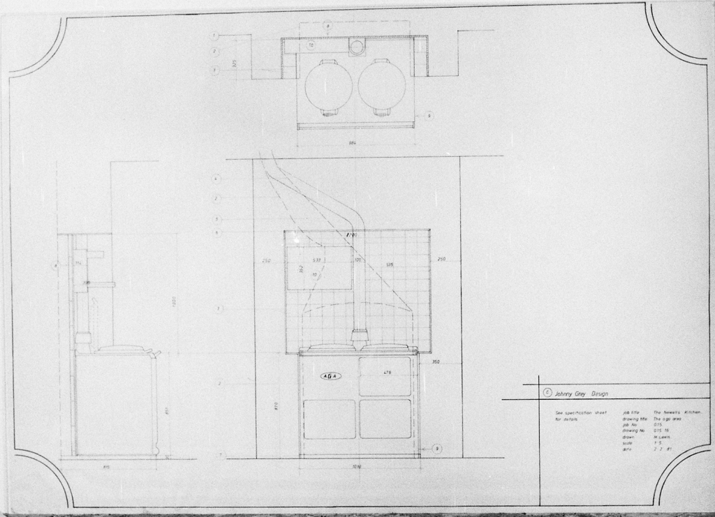 Lewis Design London - Newell's Kitchen Drawings (3)