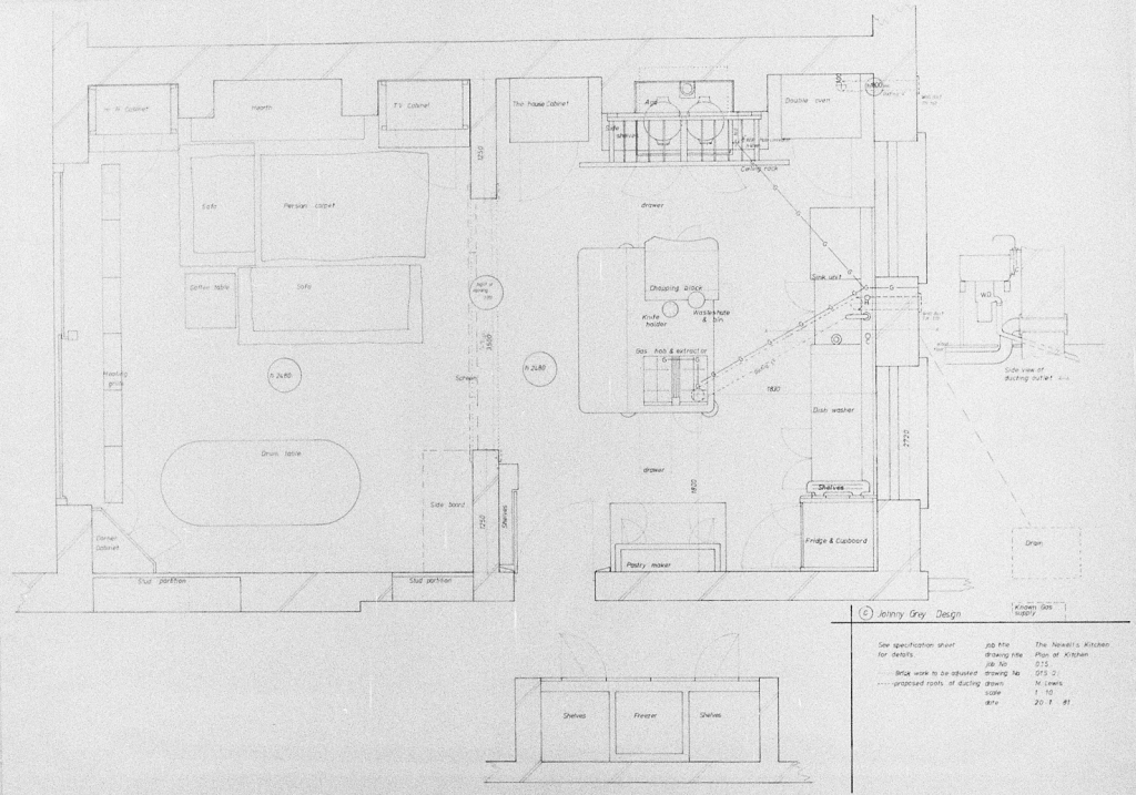 Lewis Design London - Newell's Kitchen Drawings (4)