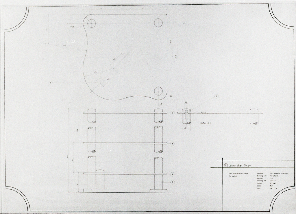Lewis Design London - Newell's Kitchen Drawings (6)