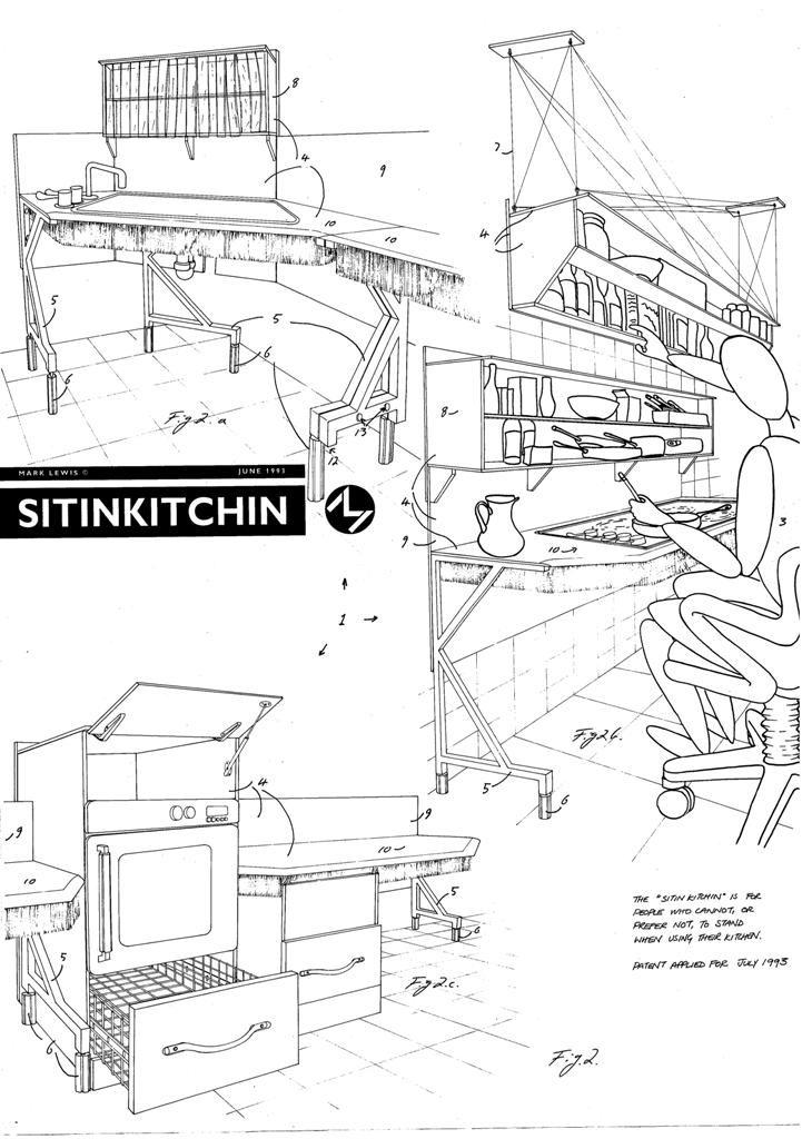 Lewis Design London - Sit In Kitchen