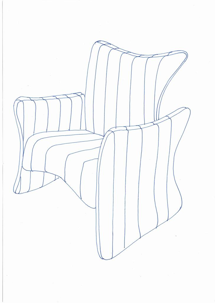 Lewis Design London - Arm Chair Product Drawings (4)