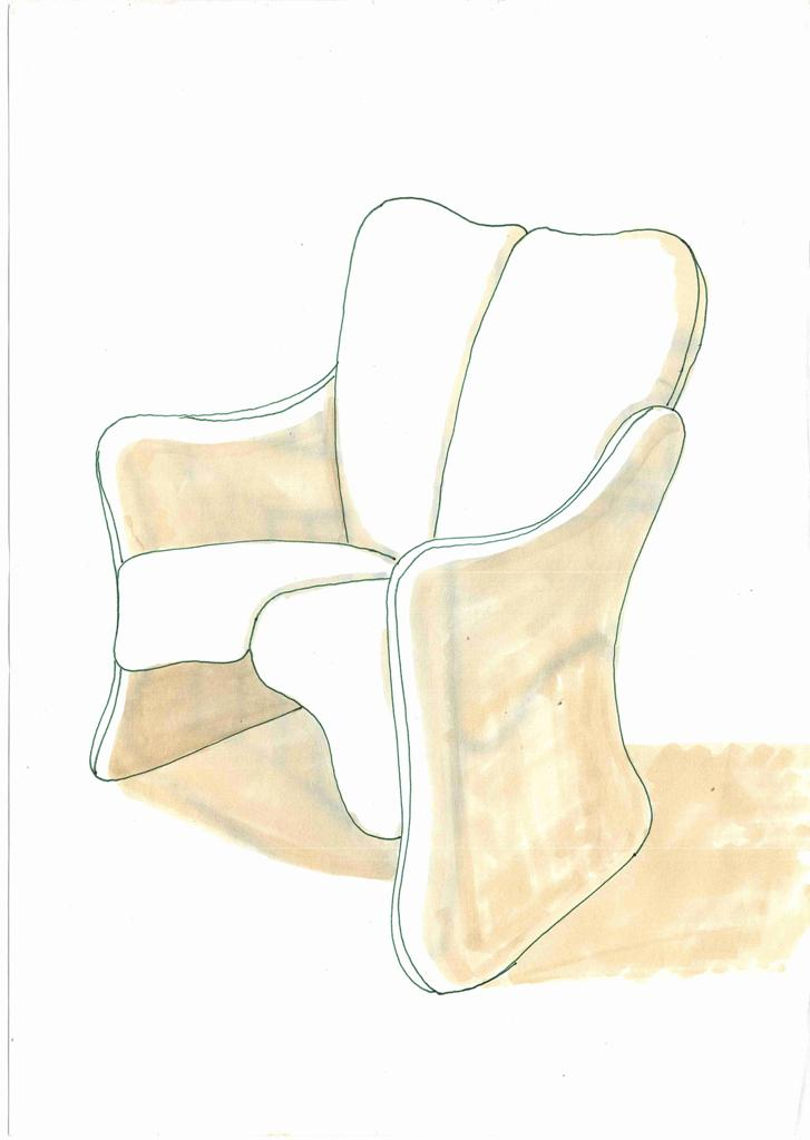 Lewis Design London - Arm Chair Product Drawings (6)