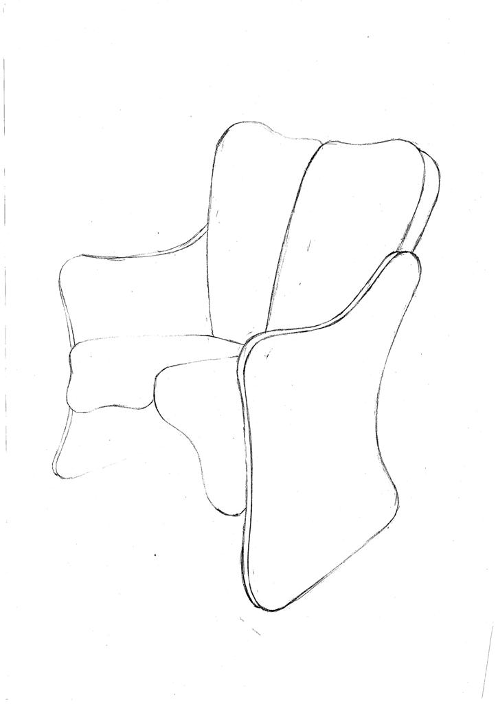 Lewis Design London - Arm Chair Product Drawings (7)