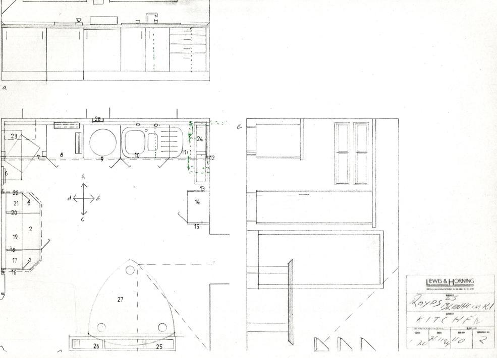 Lewis Design London - Lewis & Horning Kitchens Royds
