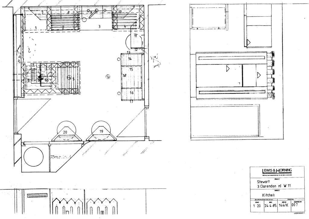 Lewis Design London - Lewis & Horning Kitchens Stewart