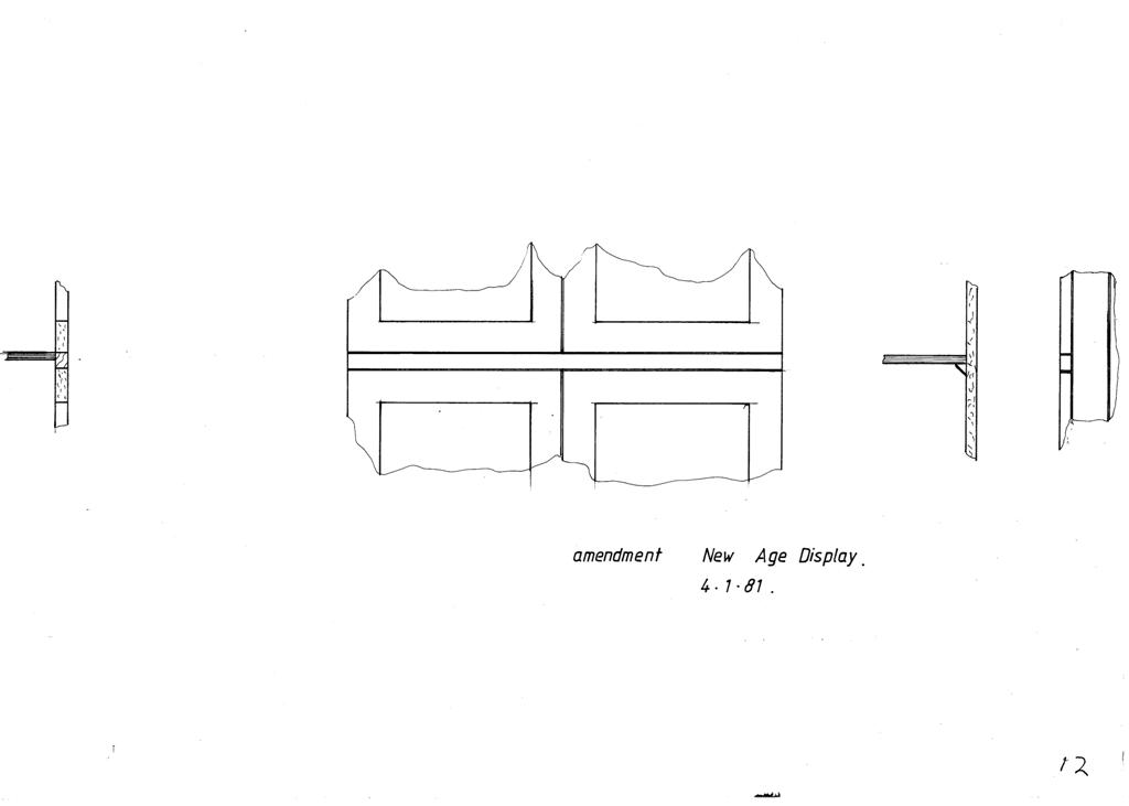 Lewis Design London - The Home Office Collection Drawings Display Cabinet (2)