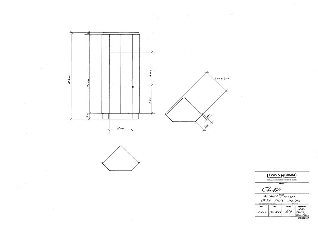 3 Lewis Design London - Chattels Kitchen Range Drawings (24)