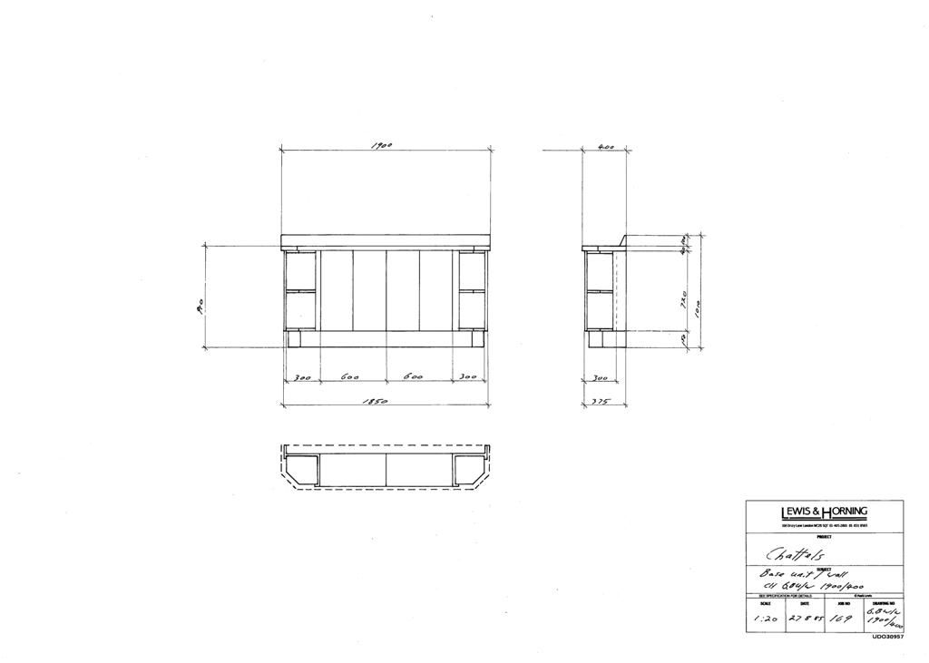 3 Lewis Design London - Chattels Kitchen Range Drawings (30)