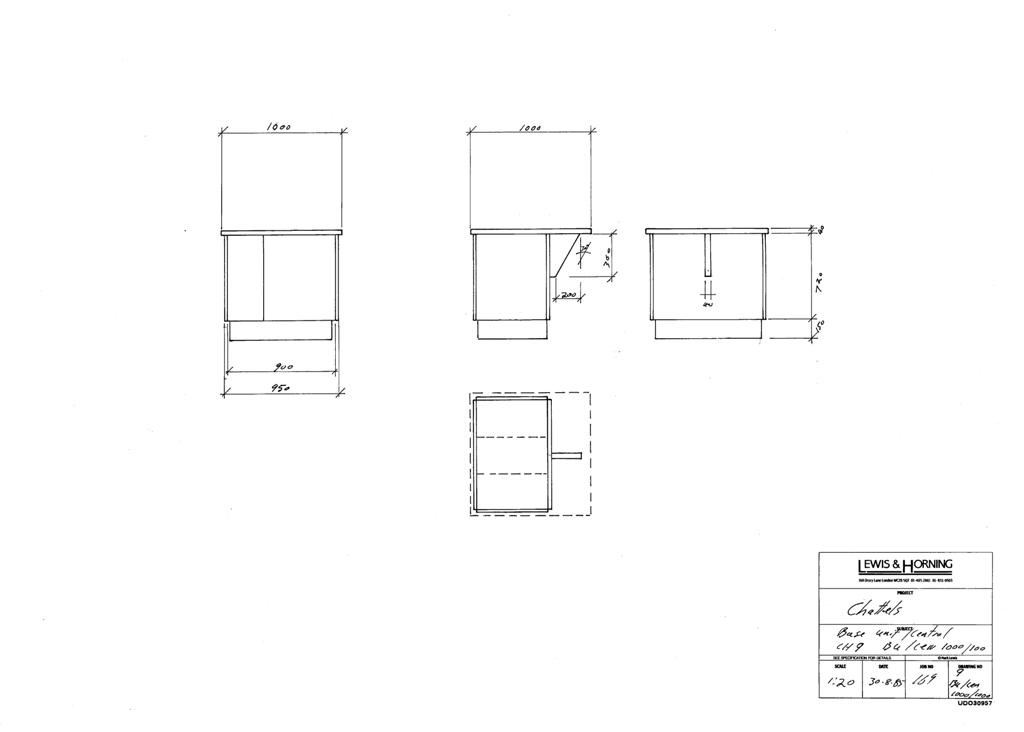3 Lewis Design London - Chattels Kitchen Range Drawings (33)
