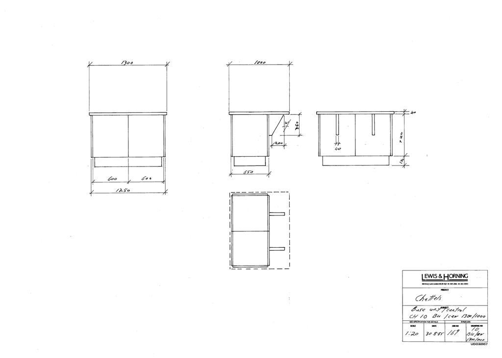 3 Lewis Design London - Chattels Kitchen Range Drawings (34)