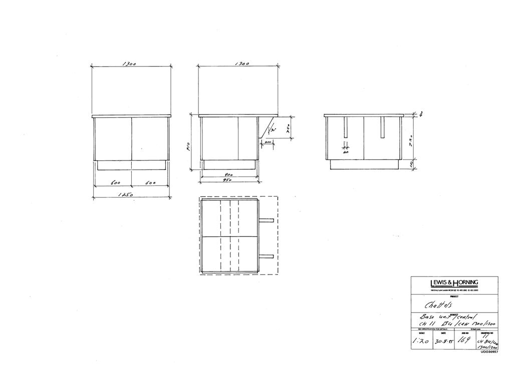 3 Lewis Design London - Chattels Kitchen Range Drawings (35)