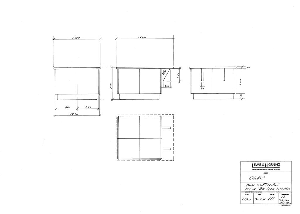 3 Lewis Design London - Chattels Kitchen Range Drawings (36)