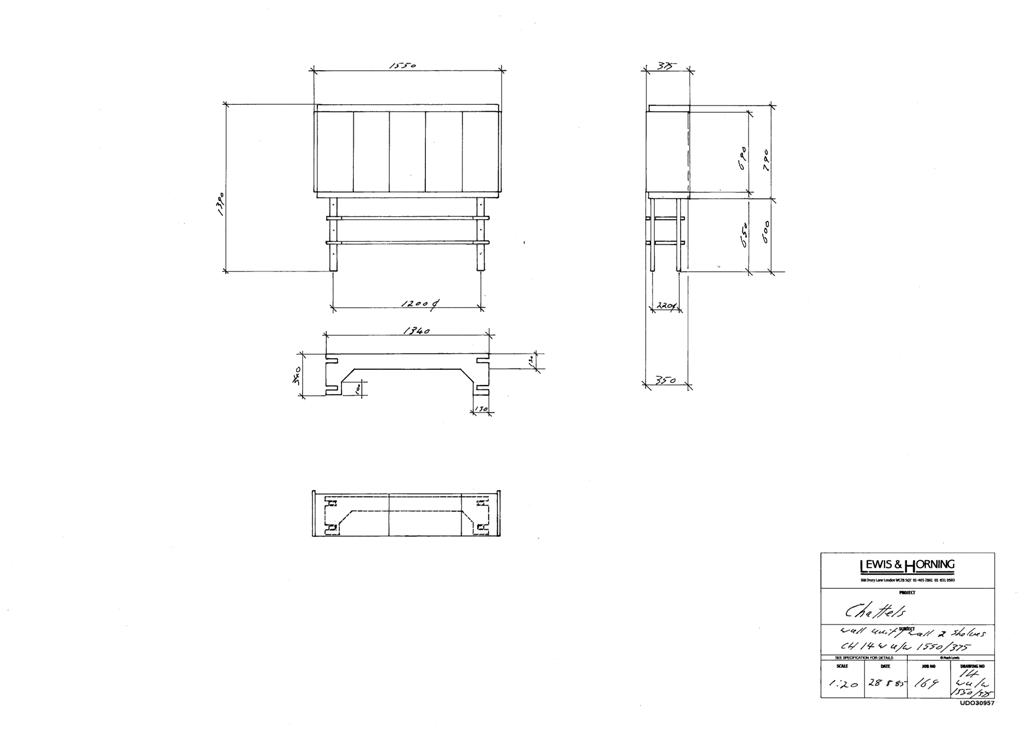 3 Lewis Design London - Chattels Kitchen Range Drawings (38)