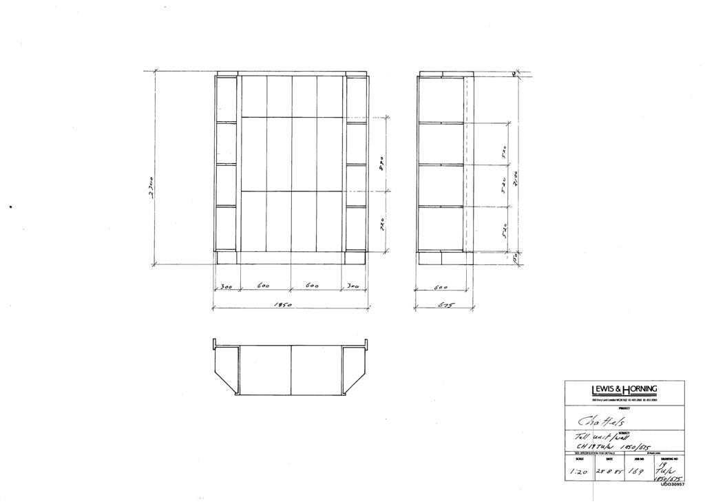 3 Lewis Design London - Chattels Kitchen Range Drawings (43)