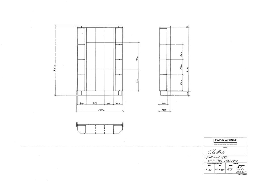 3 Lewis Design London - Chattels Kitchen Range Drawings (45)