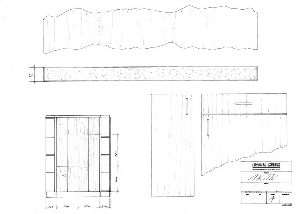 4 Lewis Design London - Chattel Cupboard Doors A