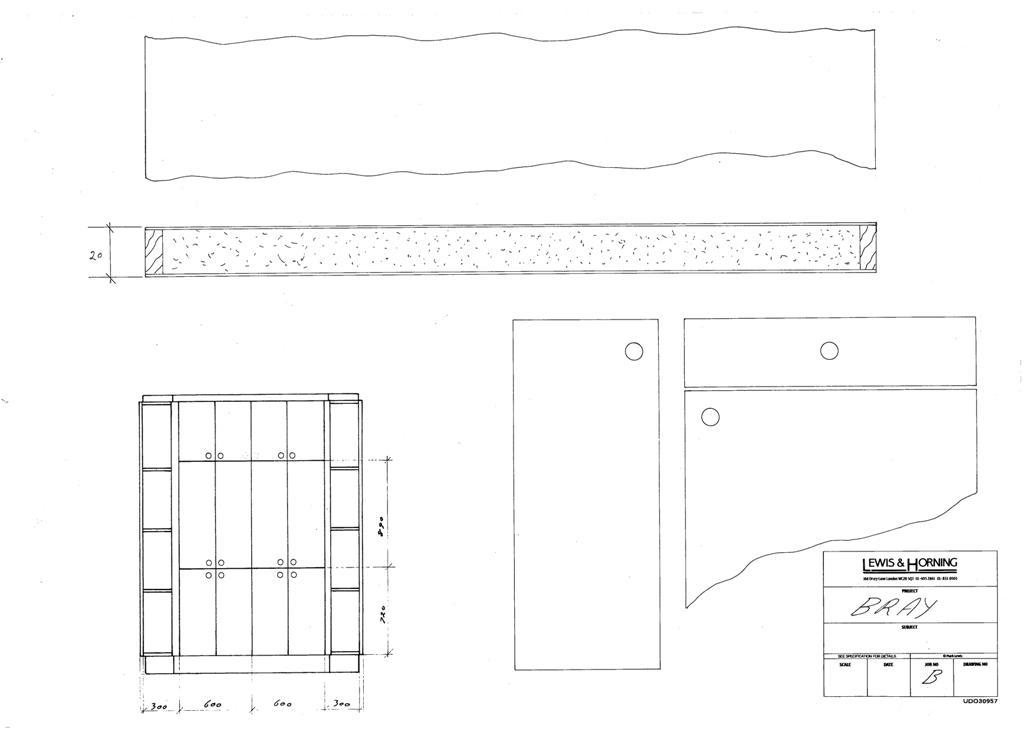 4 Lewis Design London - Chattel Cupboard Doors B