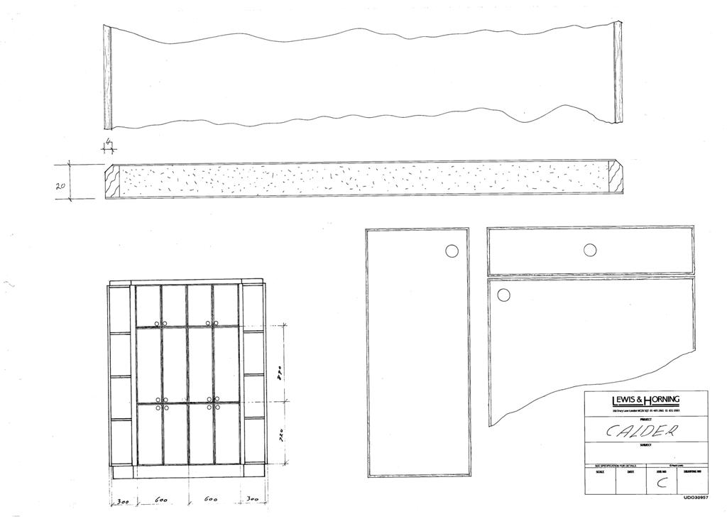 4 Lewis Design London - Chattel Cupboard Doors C