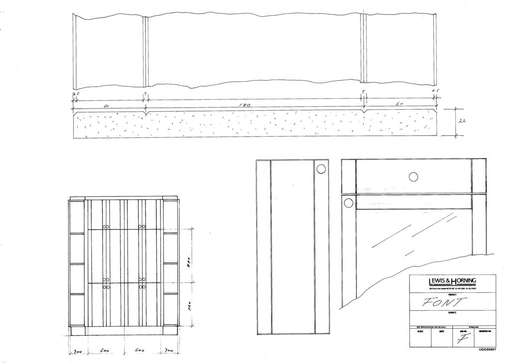 4 Lewis Design London - Chattel Cupboard Doors F