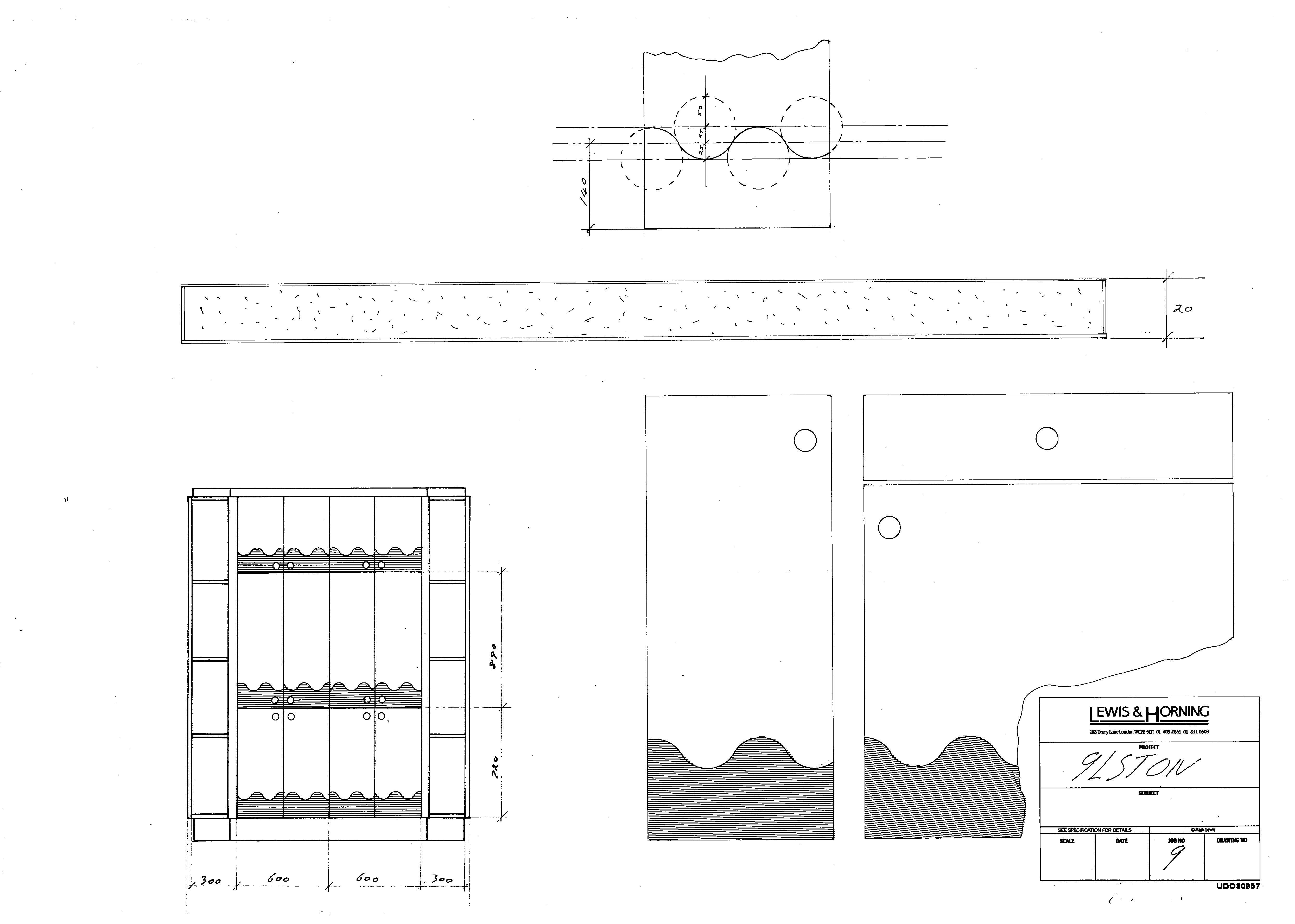 4 Lewis Design London - Chattel Cupboard Doors I