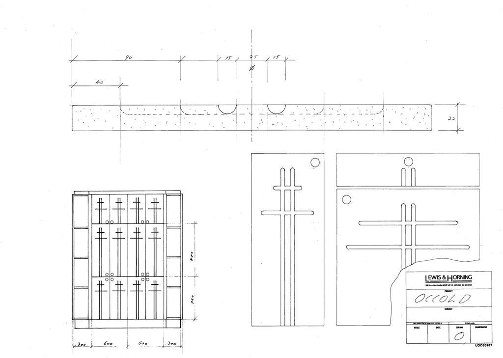 4 Lewis Design London - Chattel Cupboard Doors O