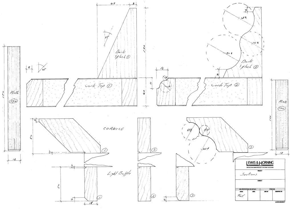 6 Lewis Design London - Chattle Cornice