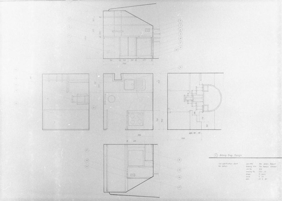 Lewis Design London - Jenks' Kitchen Drawings (2)