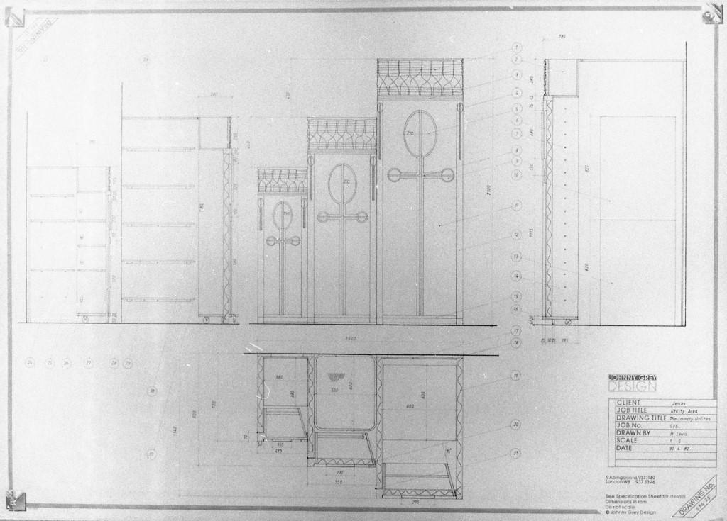 Lewis Design London - Jenks' Kitchen Drawings (3)