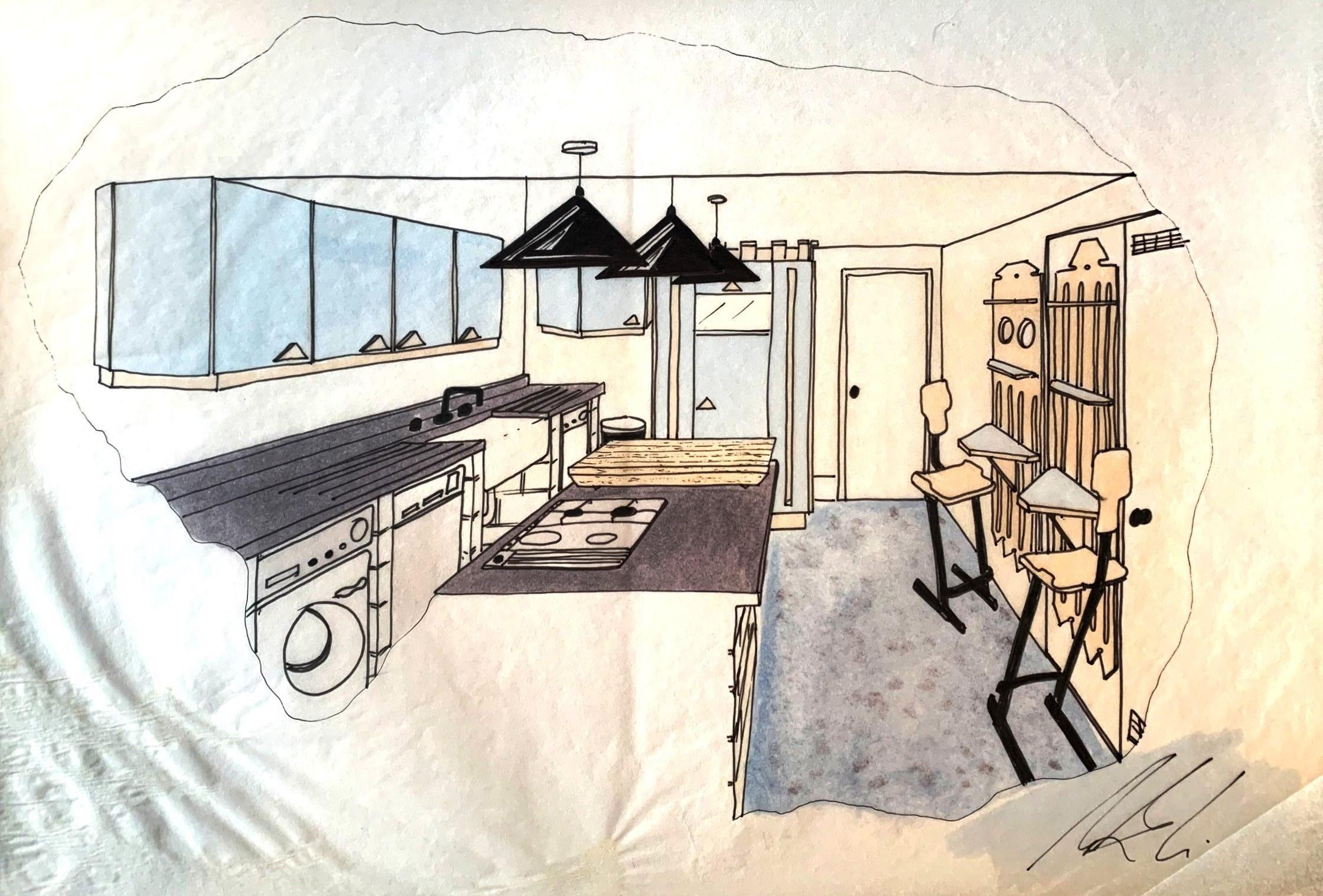 Post Modern Kitchen_1