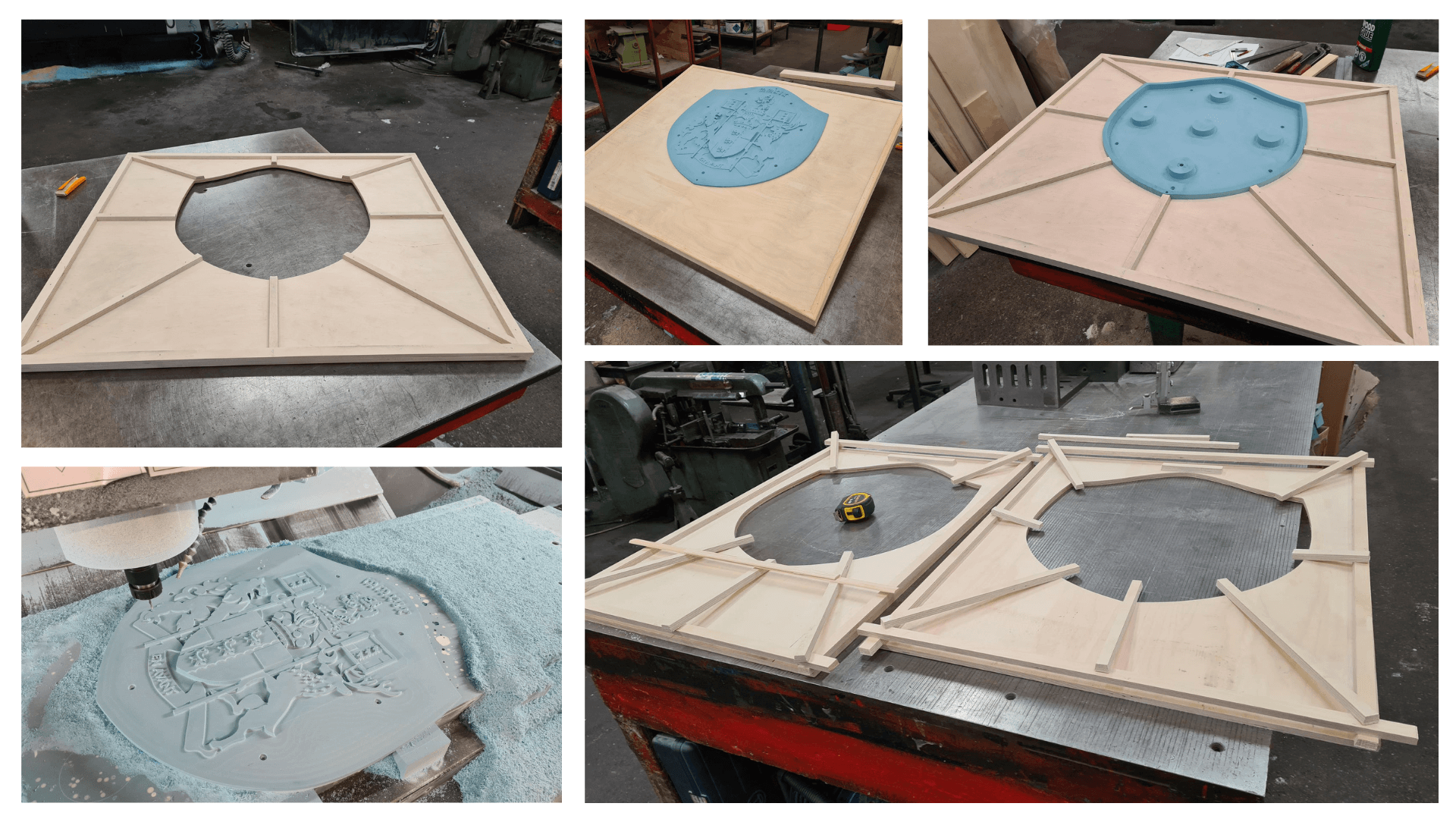 Tooling proces for Lord Brownlow firebacks 2