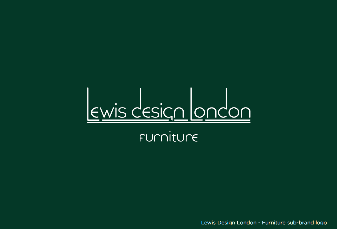 LDL-furniture on green
