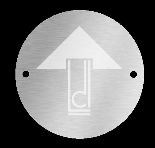 Lewis Design London silver tag